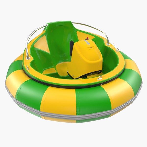 electric bumper boat generic 3D model