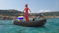 diving 3D model