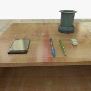 drawers bonus objects 3 3D model
