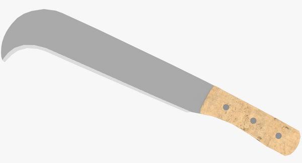 bill hook martindale 3D model