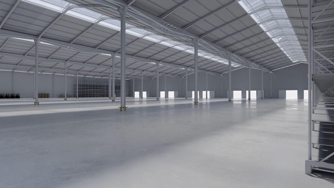 3D hall texturing building