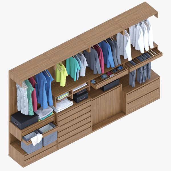 bosco wardrobe 3D model