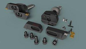 3D bore holes model