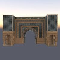 castle kasbah 3D
