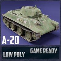 A-20 USSR Toon Tank *Big*