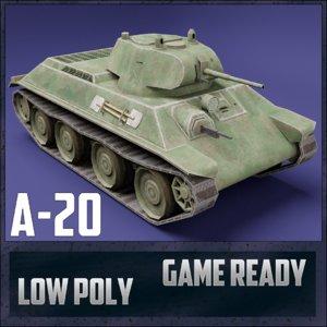 tank ussr toon 3D