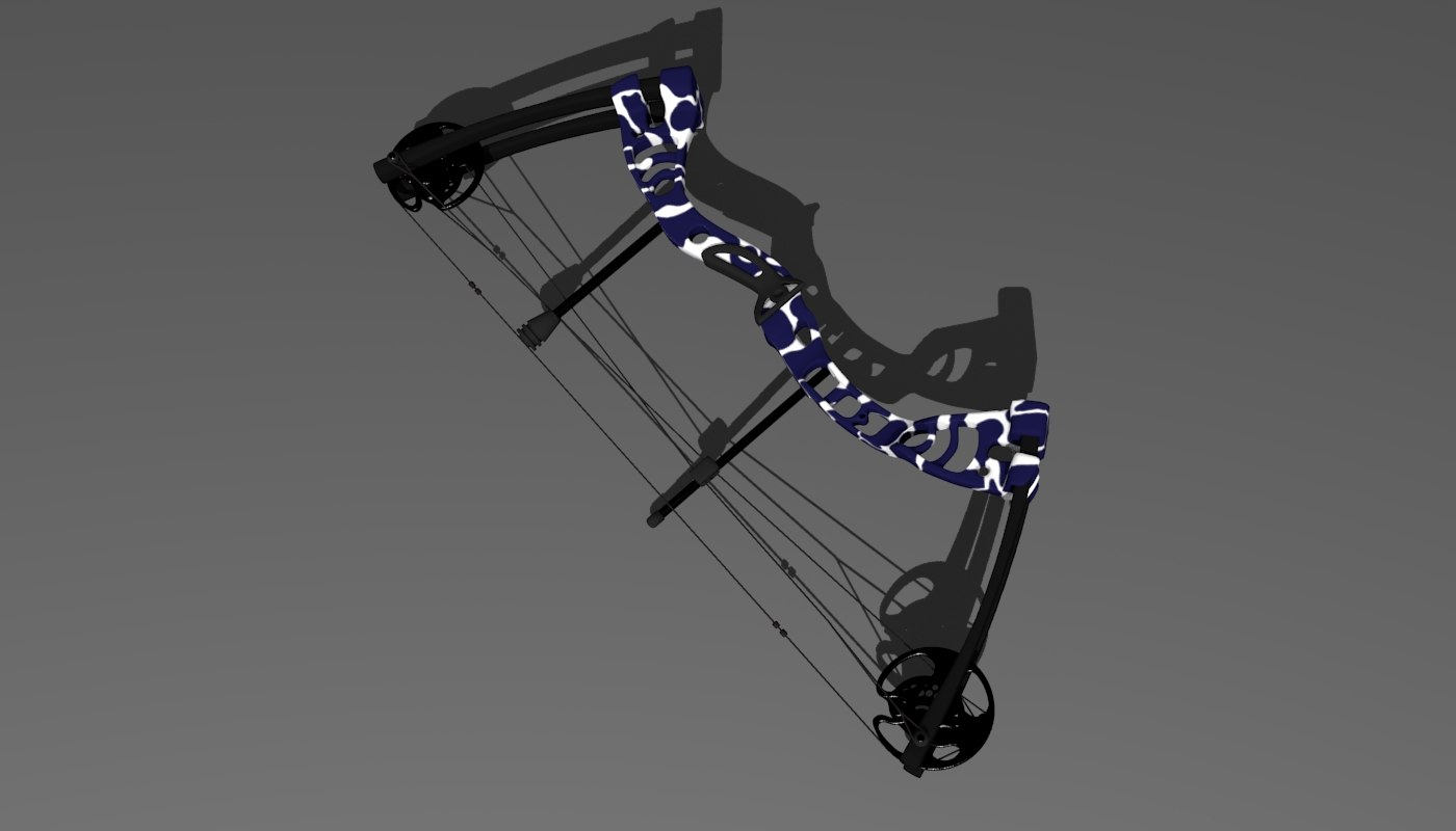 3D compound bow