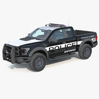 f150 raptor police interceptor 3D model