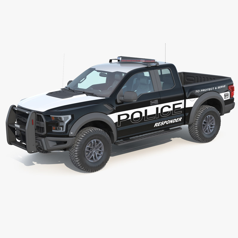 f150 raptor police interceptor 3D model