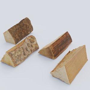 firewood pack 3D model
