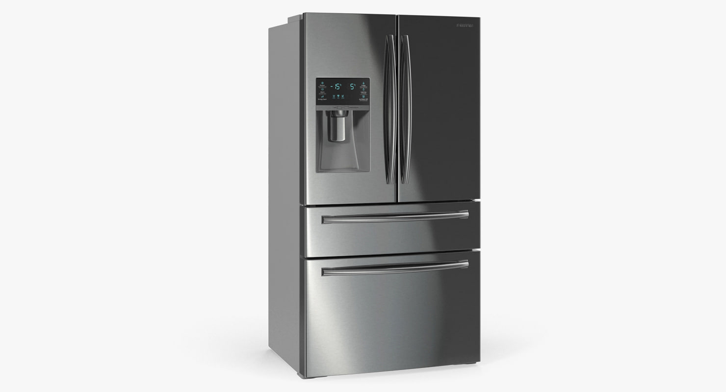 3D refrigerator samsung 4 door model