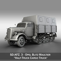 3D sd - opel blitz model