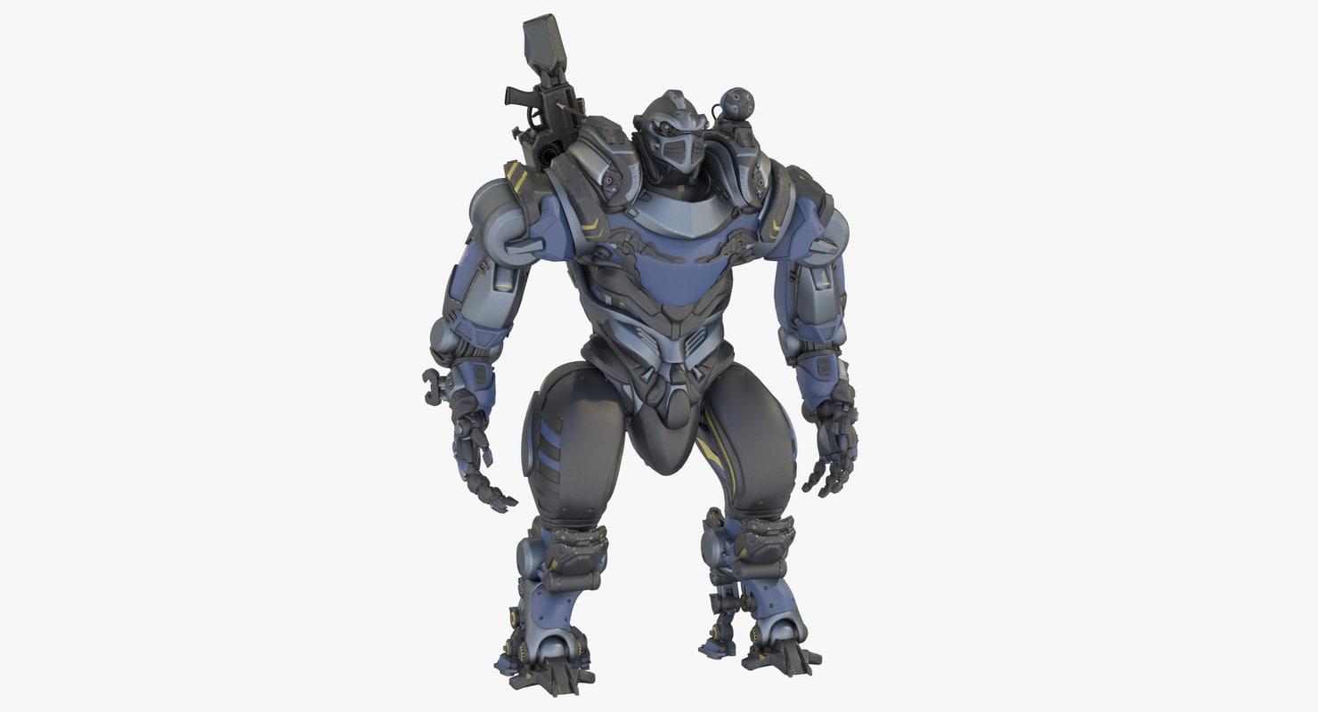 3D mech heavy
