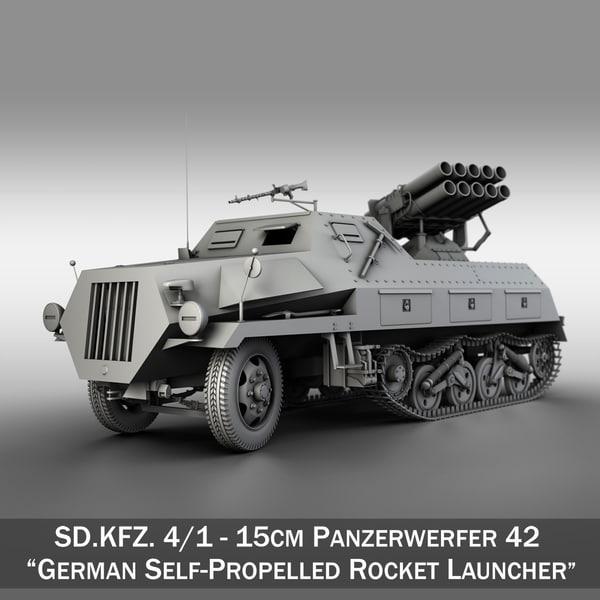 sdkfz 4 1 - 3D model