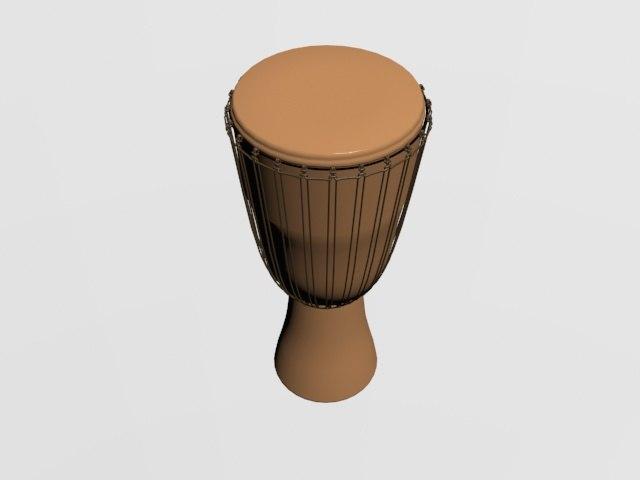 music instrument drum model