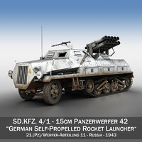 3D sdkfz 4 1 -