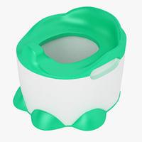 baby toilet bumbo 3D