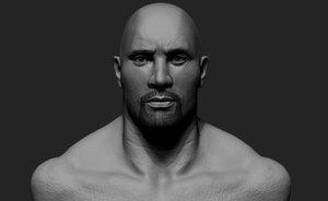3D dawyn johnson model