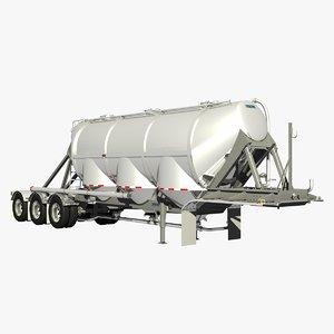 pneumatic trailer 3D model