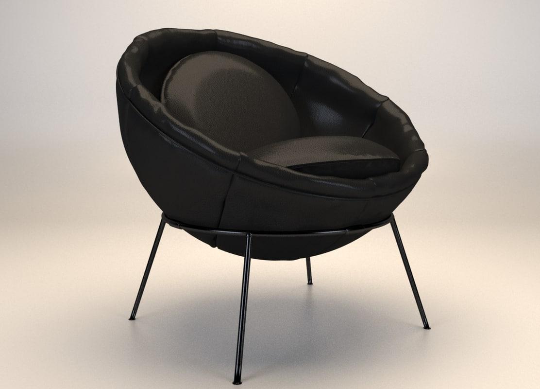 bowl chair model
