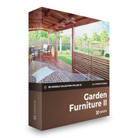 Garden Furniture II 3D Models