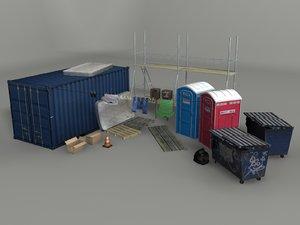street scene 3D