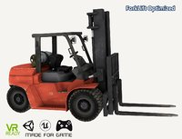 3D optimized forklift