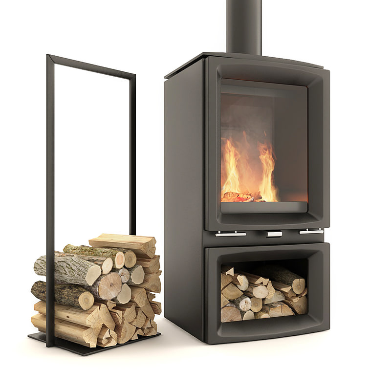 3D firewood model