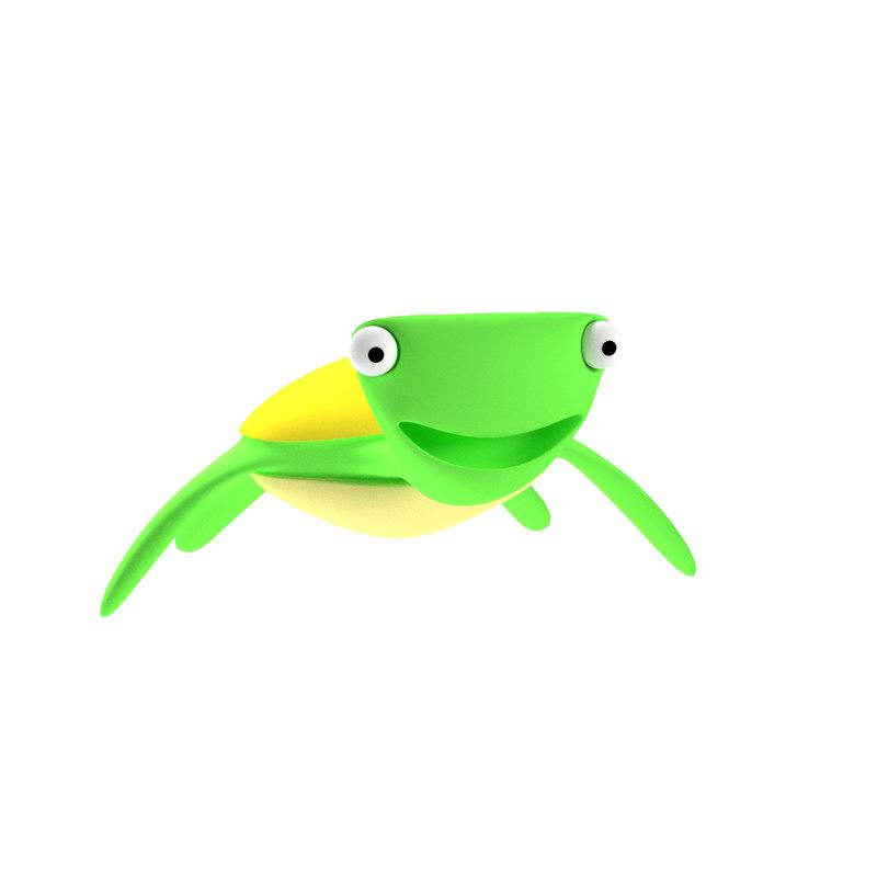 toon turtle animation model