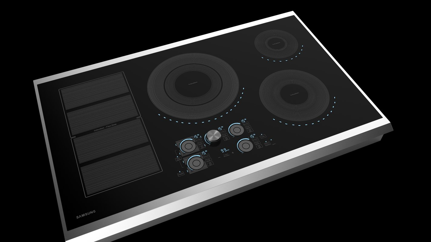 induction samsung 3D model