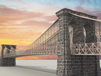 3D model brooklyn bridge