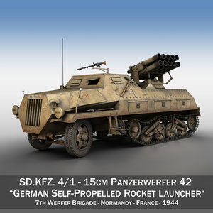 sdkfz 4 1 - 3D