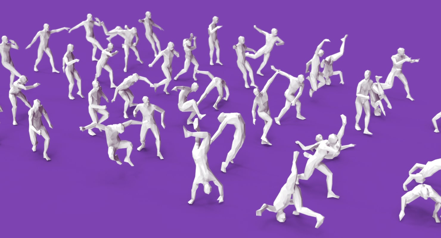 Low Poly / Dancing People