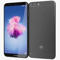 3D realistic huawei p smart model
