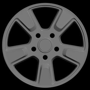 car rim 3D