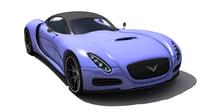 sports car concept model