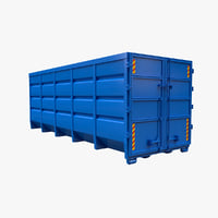 roller container model