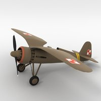 Simple PZL P.11c Polish Air Force
