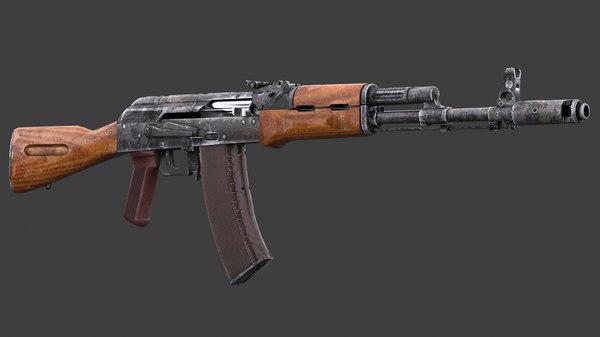 ak-74n 3D model