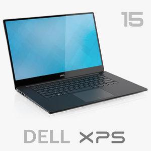 dell xps 15 9560 3D