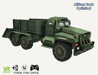 3D optimized ar military truck