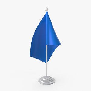 table flag 3D model
