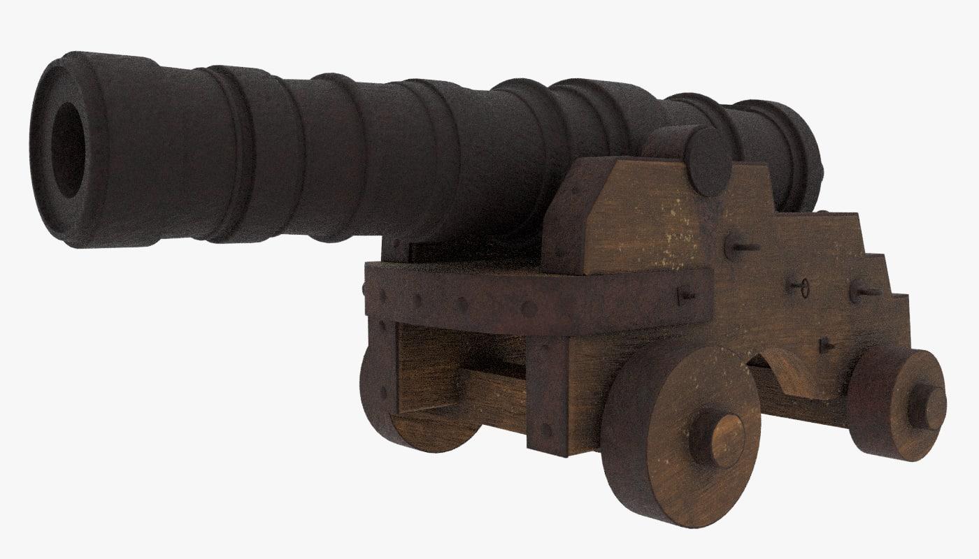 3D cannon fantasy