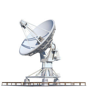 large array vla telescope 3D model