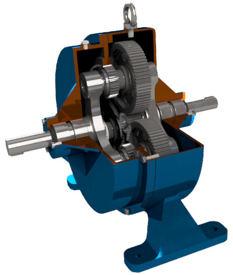 planetary gearbox 3D