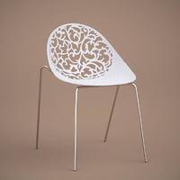 3D aurora 909 chaise model