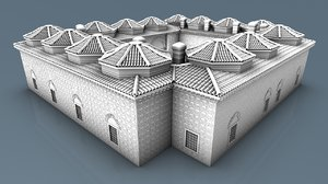 architectural manisa ottoman 3D model