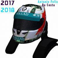 3D da costa helmet