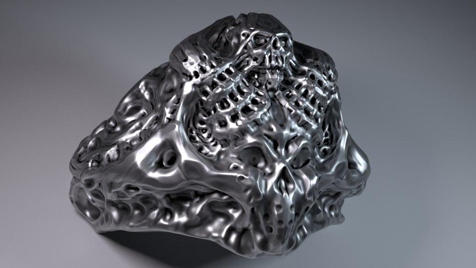 demon ring sizes 9 model