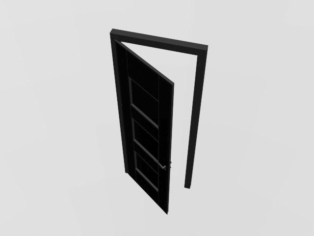 modern door style model